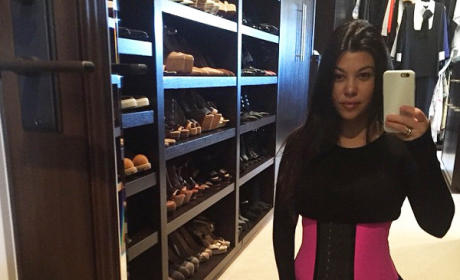 Kourtney Kardashian: Still Waist Training, Still Pathetic