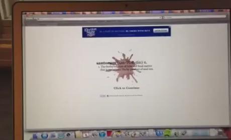 Mitt Romney Ad on Spreading Santorum