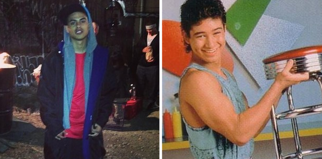 Julian Works as Mario Lopez