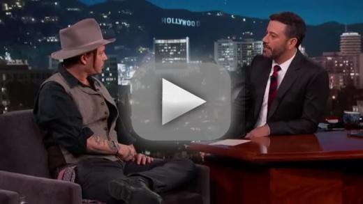 Johnny depp to jimmy kimmel i will bone your entire audience