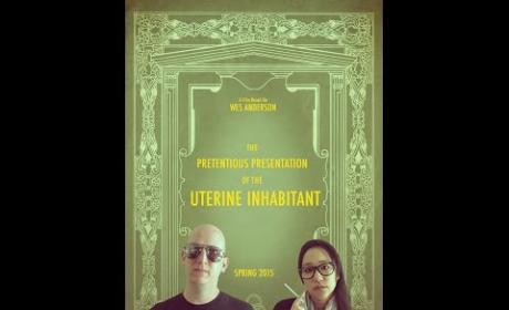 Couple Parodies Wes Anderson for Pregnancy Announcement