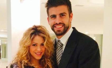 "Shakira Shows Off Baby Bump, Gushes Over ""New Favorite Accessory"""