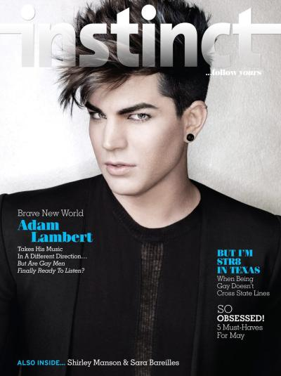Adam Lambert Instinct Cover