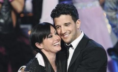 Shannen Doherty and Mark Ballas Pic