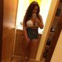 Deena Cortese Polka Dot Bathing Suit Bottom Pic