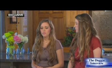 Jill and Jessa Duggar Interview, Part III