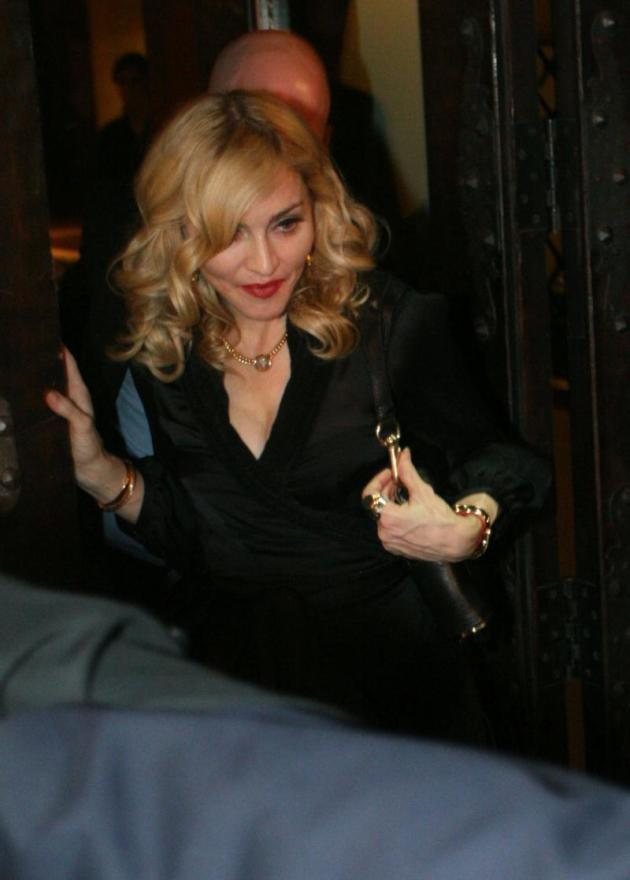 Madonna Eating Out