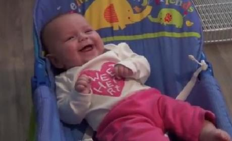 Baby Laughs at Power Tools, is Adorable