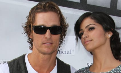 A Beautiful Family: Camila Alves, Matthew McConaughey, Son