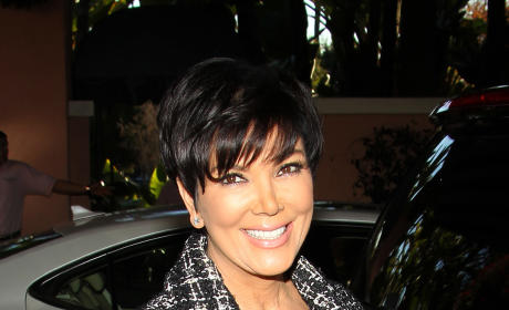 Kris Jenner Paparazzi Photo