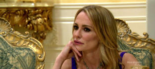 Taylor Armstrong talking about her late husband's abuse is...