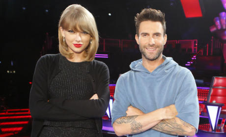 Taylor Swift, Adam Levine