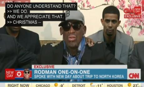 Dennis Rodman Apologizes for CNN Interview Flip Out