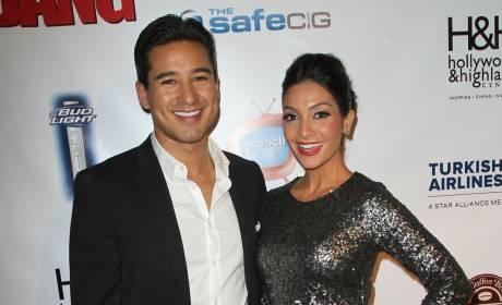 Mario Lopez and Courtney Mazza: Engaged!