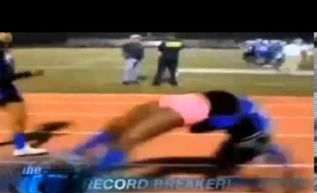 Cheerleader Breaks World Record
