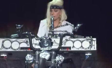 Lady Gaga Honors Princess Diana, Amy Winehouse and Whitney Houston in Concert
