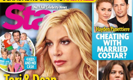 Tori Spelling: BROKE! (According to Tabloid)