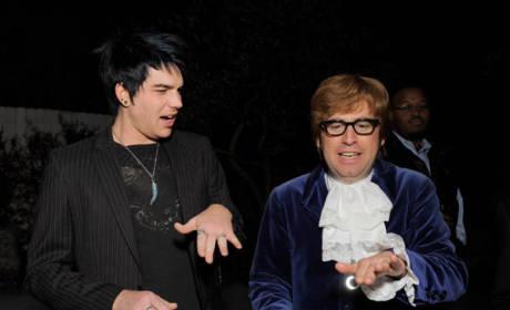 Spotted: American Idol Finalists at BritWeek