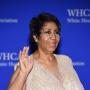 Aretha Franklin at 2016 White House Correspondents Dinner