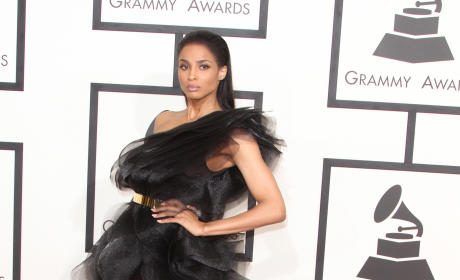Ciara at the 2015 Grammys