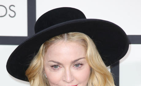 Madonna Flashes Nipple in Concert [VIDEO]
