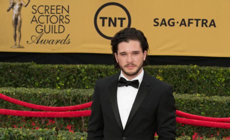 Kit Harington at the SAG Awards