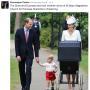 The Cambridges Baptize Princess Charlotte