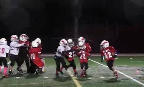 "Youth Football Team Simply Must ""Whip"" in Middle of Game"