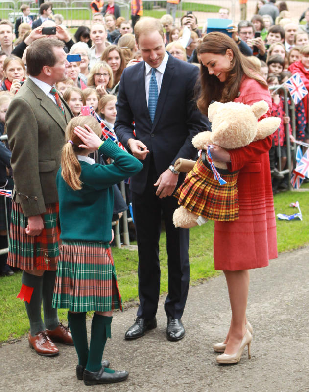 Kate Middleton, Prince William Greet Guests