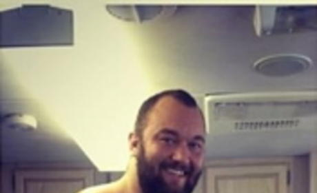 Hafpor Julius Bjornsson and Lena Headey