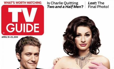 Matthew Morrison and Lea Michele Cover