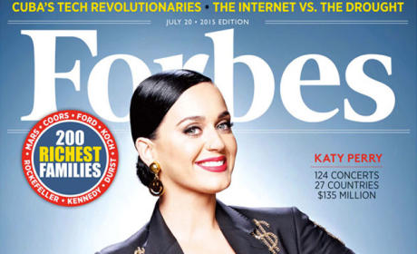 Katy Perry Forbes Cover