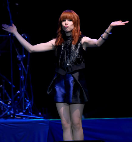 Carly Rae Jepsen on Stage