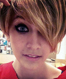 Paris Jackson Haircut