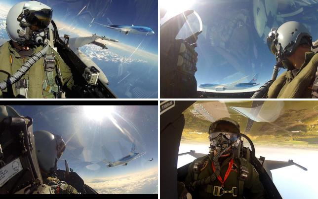 Fighter jet pilot selfies pilot selfie