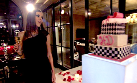 Heather Dubrow, Cake