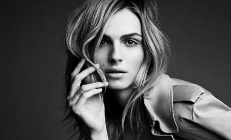 Andreja Pejic, Transgender Model, Grateful for Vogue Spread