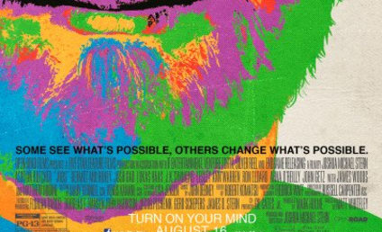 Jobs: New Poster Has a Rather Colorful Ashton Kutcher