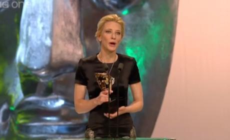 Cate Blanchett Dedicates BAFTA Win to Philip Seymour Hoffman