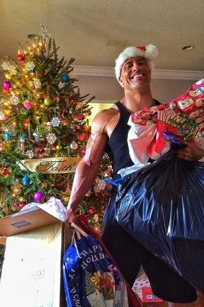 The Rock on Christmas