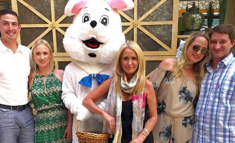 Kim Richards on Easter