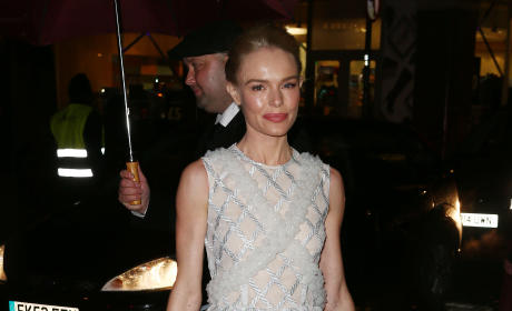 Kate Bosworth Attends Charlotte Tilbury's naughty Christmas party