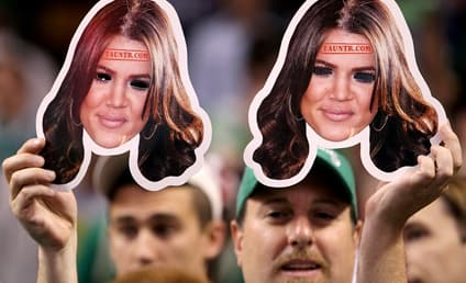 Khloe Kardashian Masks Fail to Distract Lamar Odom, Lakers Take NBA Finals Lead