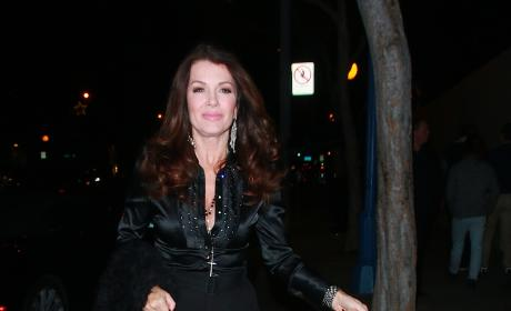 Lisa Vanderpump Dines at PUMP