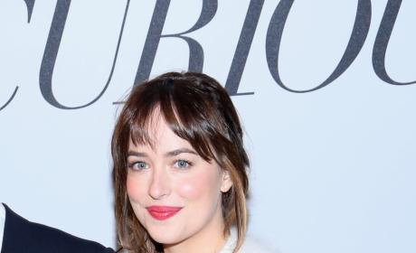 Dakota Johnson at Fifty Shades of Grey Screening