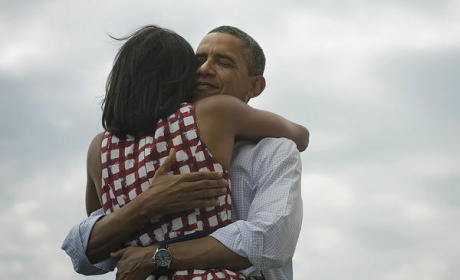 Barack and Michelle Obama Photo: Cutest, Most Liked / Re-Tweeted EVER!