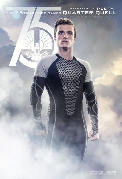 Catching Fire Character Poster Peeta