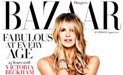 Elle Macpherson: Nude in Harper's Bazaar! At Age 49!