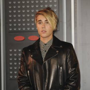 Justin Bieber at the VMAs