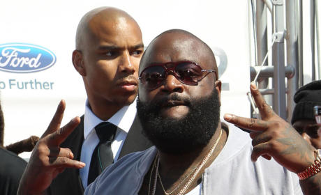 Rick Ross at the BET Awards